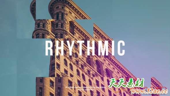 Rhythmic Intro FCPX or Apple Motion
