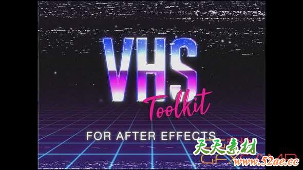 VHS Toolkit for After Effects