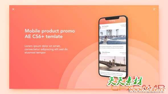 Mobile Product Promo 21539123