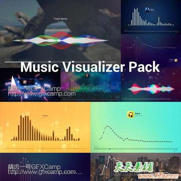 Music-Visualizer-Pack