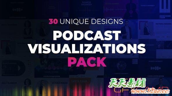 Podcast Visualizations Pack 27588818